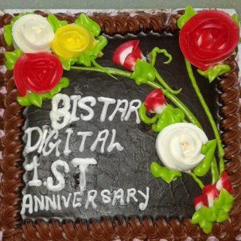 Celebrating 1st anniversary of Bistardigital